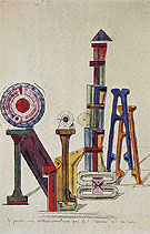 The Great Orthochromatic Wheel Making Customized Love 1919 - Max Ernst