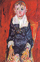 Chaim Soutine The Village Idiot c1920