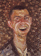 Richard Gerstl Self portrait Laughing 1908