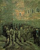 Vincent van Gogh Prisoners Exercising 1890
