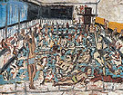 Childrens Swimming Pool After Afternoon 1971 - Leon Kossoff