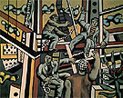 Fernand Leger The Construction Workers 1951