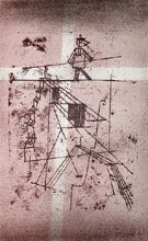 The Tightrope Walker 1923 - Paul Klee