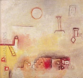 Reconstruction 1926 - Paul Klee reproduction oil painting