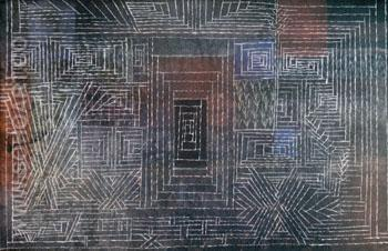 Castle to be built in the Forest 1926 - Paul Klee reproduction oil painting