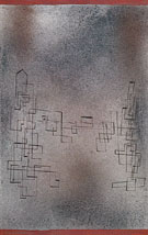 Threatening Snowstorm 1927 - Paul Klee reproduction oil painting