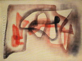 Three Subjects Polyphony 1931 - Paul Klee reproduction oil painting