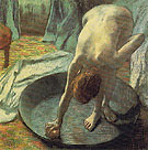 The Tub c1885 - Edgar Degas