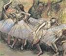 Dancers c1897 - Edgar Degas