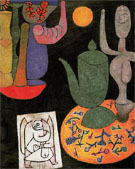Untitled Still Life 1940 - Paul Klee