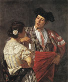Offering the Panal to the Bullfighter 1872 - Mary Cassatt
