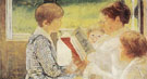 Reading 1880 - Mary Cassatt