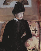 Portrait of Madame J 1879 - Mary Cassatt