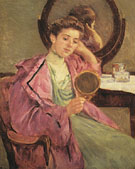 Woman at Her Toilette 1909 - Mary Cassatt
