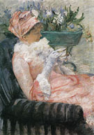 Tea 1880 - Mary Cassatt reproduction oil painting