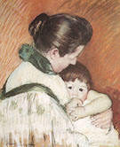 Mary Cassatt Sleepy Thomas Sucking his Thumb 1893