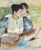 Mary Cassatt The Banjo Lesson 1894