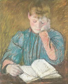 Mary Cassatt The Pensive Reader c1894