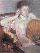 Mary Cassatt Contemplation 1891