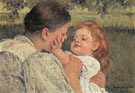 Mary Cassatt Maternal Caress 1896
