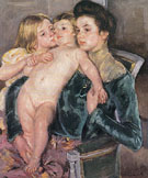 The Caress 1902 - Mary Cassatt