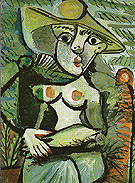 Portrait of Suzanne Bloch Opera Singer 1904 - Pablo Picasso