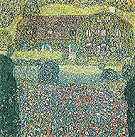 Villa on the Attersee 1914 - Gustav Klimt