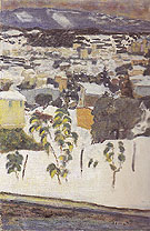 Le Cannet under the Snow 1927 - Pierre Bonnard