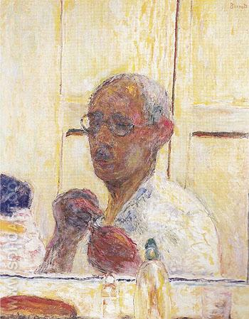 Self Portrait c1938 - Pierre Bonnard reproduction oil painting