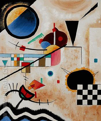 Constrasting Sounds 1924 - Wassily Kandinsky reproduction oil painting