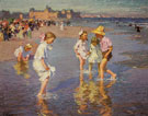 Edward Henry Potthast Brighton Beach
