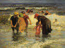 Edward Henry Potthast The Bathers