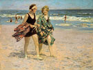 Edward Henry Potthast Blonde and Brunette
