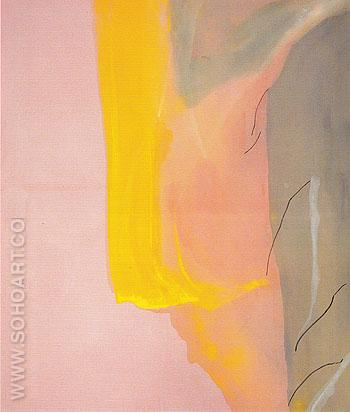 Spiritualist 1973 - Helen Frankenthaler reproduction oil painting