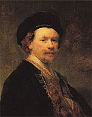 Self Portrait c1636 - Rembrandt