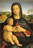 Raffaello Santi Madonna and Child with a Book c1502