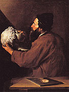 Jusepe de Ribera The Sense of Touch c1615