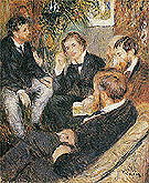 Pierre Auguste Renoir The Artists Studio Rue Saint Georges 1876