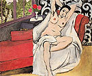 Matisse Nude on a Sofa 1923