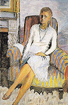 Portrait of Leila Claude Anet 1930 - Pierre Bonnard