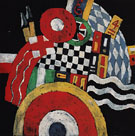 Marsden Hartley E German Officer Abstraction c1915