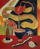 Marsden Hartley Still Life with Eel c1917