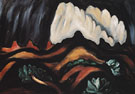 Marsden Hartley New Mexico Recollections Storm 1923