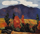 Marsden Hartley Franconia Notch 1930