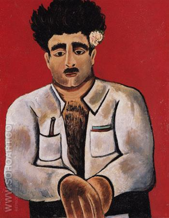 Adelard the Drowned Master of the Phantom c1938 - Marsden Hartley reproduction oil painting