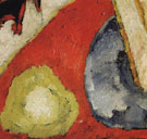 Detail of Military - Marsden Hartley