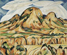 Marsden Hartley New Mexico Landscape 1919