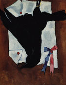 Crow with Ribbons 1941 - Marsden Hartley