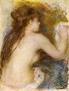 Nude Back of a Woman c1879 - Pierre Auguste Renoir