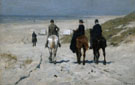 Morning Ride on the Beach 1876 - Anton Mauve